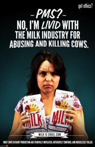 MFA advertisement in response to a dairy industry advertisement for a women's magazine.
